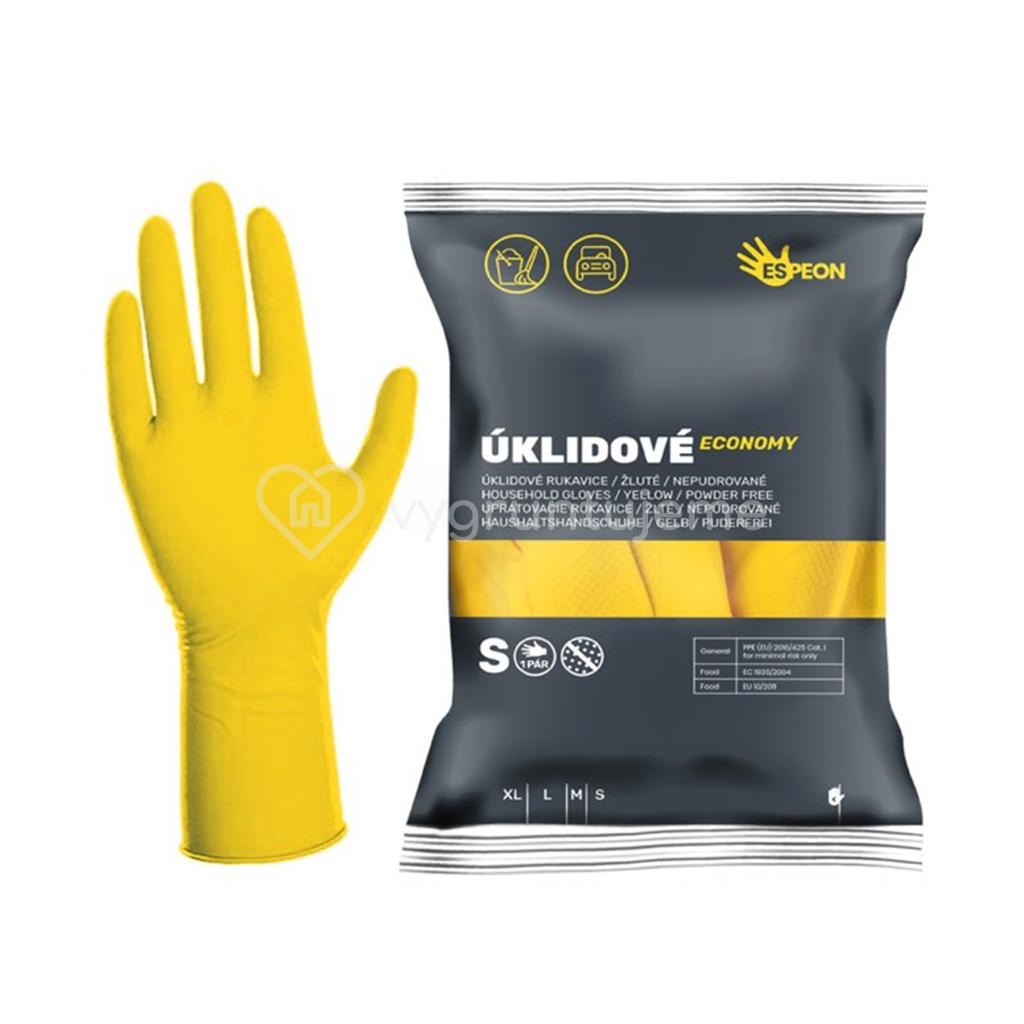Espeon rukavice zlute S